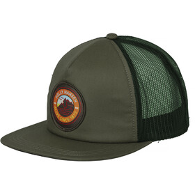 Helly Hansen HH Flatbrim Trucker Cap Jungle Green